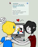 ask. Marshall Lee y Finn by fermarfi