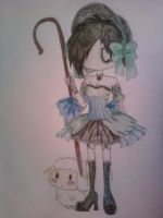 Sick and Twisted: Lil Bo Peep by MrBubbles24