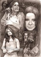 Ozzy Osbourne by Alleycatsgarden