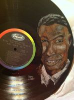 Nat King Cole Record by dARk-knighT4