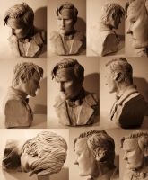 11th Doctor- Bust Sculpt by AnnaMariaBryant