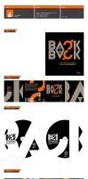 Back to Back. cd cover by PoorDesigners