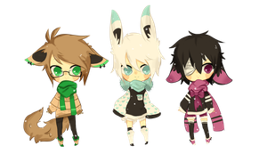 sweaters and scarves adopts (( O P E N)) /AB added by hellafluffy