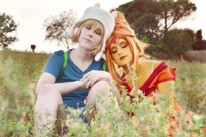 [Adventure Time] ~ Two Lovers by Mugi-Cosplay