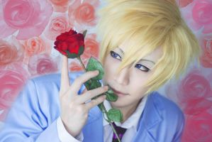 Tamaki Suoh - Ouran High School Host Club by jettyguy