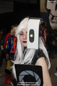 Portal 2: GLaDOS cosplay by Dr-Bowman
