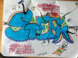Graffitti Art for all you stephs by thisiscray
