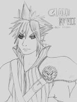 Gift: Final Fantasy Cloud by Sparx-the-Fox
