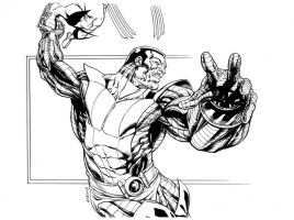 X-Men Colossus SOTD by RobertAtkins