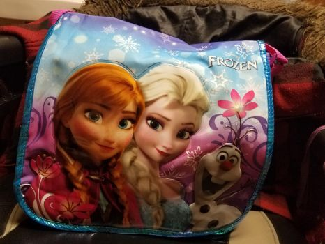 My Newest Frozen Bag by Tiffany-Windsong