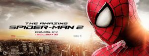 The Amazing Spider-man 2 Banner No oficial Cine 1 by jphomeentertainment