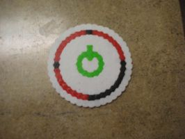 Red Ring of Death Coaster by fmagirl09