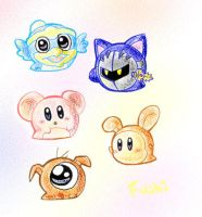 Blob animals by Fushidane