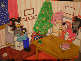 Merry X-mas .:2007:. by Kamiflor