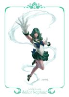 Project SailorMoon Brazil: Sailor Neptune by SulaMoon