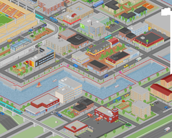 Micropixel city v3 by karlneil