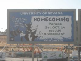 Homecoming Billboard by caitlinajohnson