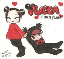 Pucca And Garu by Lil-melody