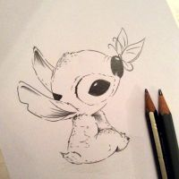 Stitch Sketch 6 - on SALE NOW via ETSY by Hummingbird26