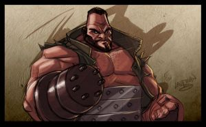 SCRATCH - FF7 Barret by DerekLaufman