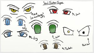 Soul Eater Eye Study by Engracia-Penthea