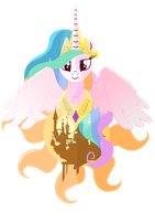 Princess of the Day: Celestia by Ilona-the-Sinister