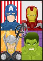 Avengers Assemble! by GHussain