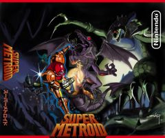 Super Metroid by devor3