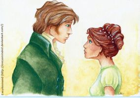 Pride and Prejudice - The Ball by Poppysleaf