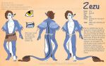 Zezu reference sheet by EverbloomingForest