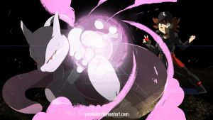 The one and true Legendary, Mewtwo! [CM] by YUMIXK0