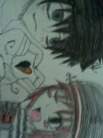 Me and lawliet by avilon1232