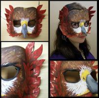 Red-Tailed Hawk Mask by Jedi-With-Wings