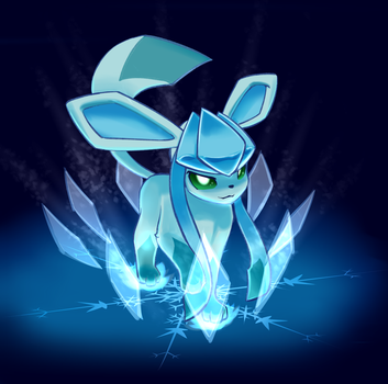 Some Glaceon thingy. by JT-Metalli