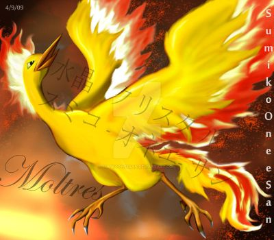 Moltres Bringer of Fire by SumikoOneeSan