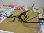 Pipe-cleaner Dragon (Above View) by Kaniai