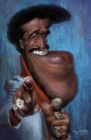 Sammy Davis Jr by creaturedesign