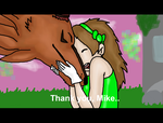 Thank you, Mike~~ by Phewmonsuta