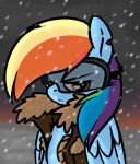 Rainbowdashsnow by j5furry