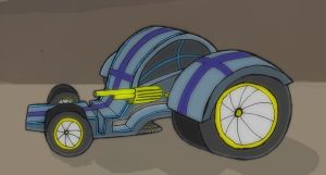 Mechanical Drawing: Car by ineedpractice