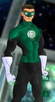 Green Lantern by Mawnbak