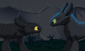 Toothless the Alpha by 9CentsChange