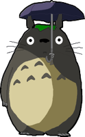 Anime Totoro Dock Icon by cmnixon