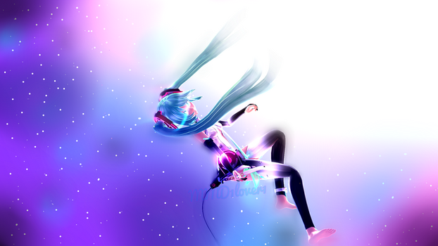Miku append by MMD1lover1