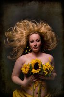 Sunflowers 1 by CurvedLightStudio