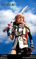 FFXIII - White flash II by fiathriel