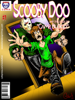 Scooby meets Jason by vezolution