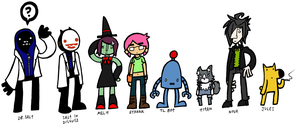 More Void Characters by DrSalt