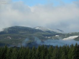 A smoky mountain... by TMNT224