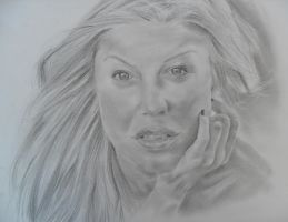 Fergie by TERRIBLEart